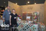 Richard & Natalie from Aurifil - Jen Kingwell Designs - Quilters Dream Batting