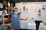 Clancy from Winterwood Felt & Craft Supplies at AQM 2018