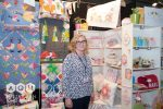 Lauren Wright from Molly & Mama, on the CA Booth