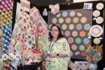 Sharon Burgess from Lilabelle Lane, on the CA Booth